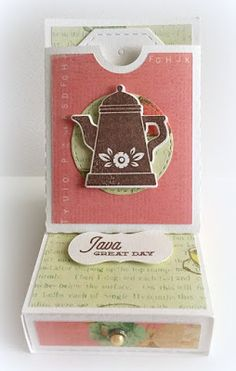 It's the last week of the summer holidays here and this girl is all ready for the kiddos to head back to school. Coffee Set, Java, Back To School, Card Ideas, Stamps, Paper, Holiday, Projects, Cards