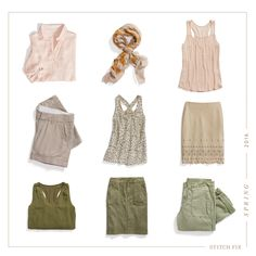 Trending now: desert neutrals. From rose quartz to sand, update your spring palette with earthy hues.