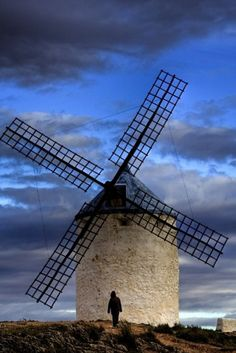 The windmills in Castilla La Mancha are one of the most common things to visit there
