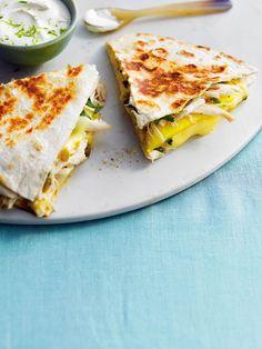 Des quesadillas succulentes, avec juste ce qu'il faut de zeste!