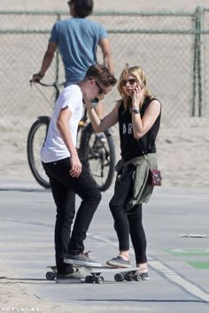 Chloe Grace Moretz and Brooklyn Beckham first started hanging out in May 2014.