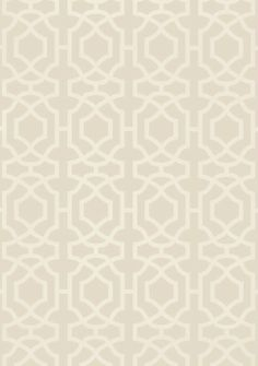 Alston Trellis #wallpaper in Flax from the #Monterey Collection by #Thibaut