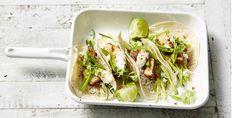 Chilli Tempeh Satay Tacos via @iquitsugar