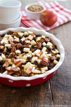 Apple Cinnamon Breakfast Bake | FamilyFreshCooking.com