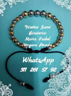 Diseños Sami Bisuteria: www.bisuteriasam.blogspot.com