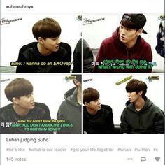 Luhan is insulted