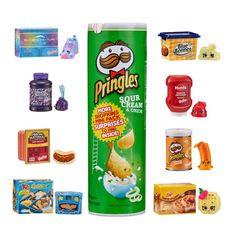 Lot of 3 Basket Season 12 REAL LITTLES 2 Shopkins Mini Packs Shopping HTF Brand