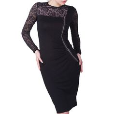 Dress Black Beige, £99, now featured on Fab.