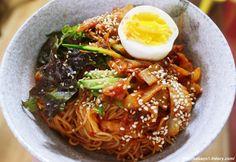 Ramen, K Food, Asian Recipes, Ethnic Recipes, Korean Food, Noodles, Food And Drink, Pasta, Yummy Food