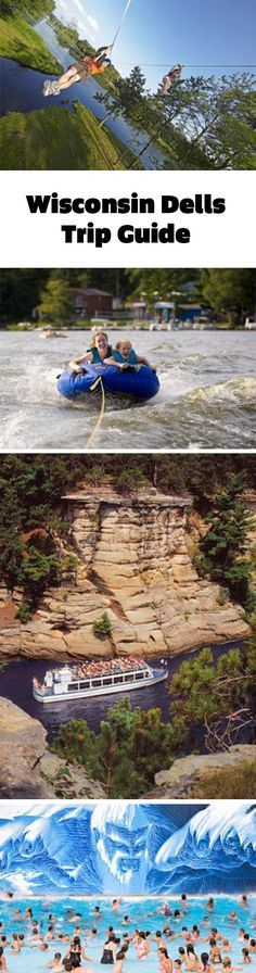 It's all about getting on the water in the Dells: Boat tours, water parks, lake visits and more: http://www.midwestliving.com/travel/wisconsin/wisconsin-dells/wisconsin-dells-trip-guide/