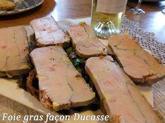 FOIE GRAS FACON DUCASSE