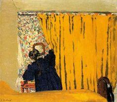 Edouard Vuillard - The Yellow Curtain, 1893