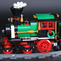 LEPIN 36001 Winter Holiday Train LegoINGlys 10254 Holiday Train, Pepsi, Winter Holidays, Nerf