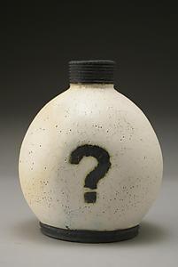 """""""Mystery Bottle""""  Ceramic Vase"""