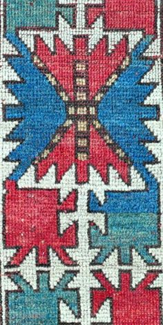 Caucasian Kazak rug - 5'3 x 7'0 -159 x 213