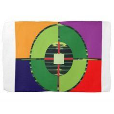 FOCUS Green Target EARTH  Global Warming NVN255 Kitchen Towel