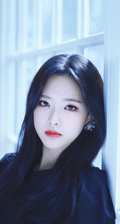 Ideas for makeup korean kpop asian eyes Kpop Girl Groups, Korean Girl Groups, Kpop Girls, Berry, Asian Eyes, Eye Circles, Olivia Hye, Girl Bands, These Girls