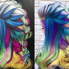 Remember? Isn't it thrilling when an artist from one medium inspires another? Artists: @glamhairbymarie and @faderesistantartist #hotonbeauty #throwbackthursday