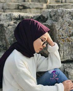 Modest Fashion Hijab, Casual Hijab Outfit, Hijab Chic, Muslim Fashion, Fashion Outfits, Stylish Hijab, Hijabi Girl, Girl Hijab, Muslim Girls