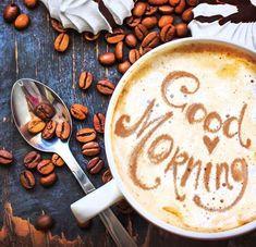 Новый день - новая жизнь, новая чашка кофе :) Доброе утро!