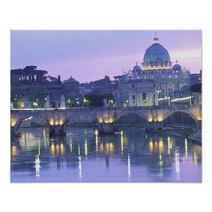 Poster:  Italy, Rome, The Vatican - stunning!  Available via Zazzle