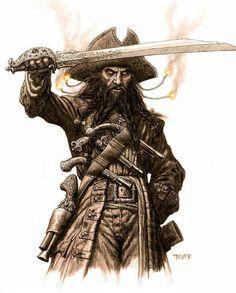 Black Beard.