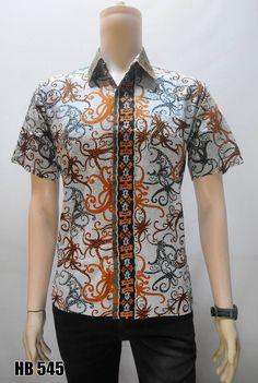 GROSIR BATIK TERLARIS Baju Batik Kerja Pria Baju Batik Lengan