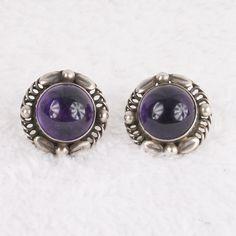 Fabulous Georg Jensen Amethyst earrings w post backs on Etsy, $748.79 AUD