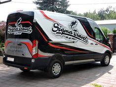 RA Graphics Van Wrap design