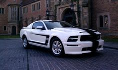 Sick Mustang...i will own a white mustang again some day!!