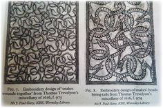 """""""Snakes Wounde Together"""" Englyshe Embroiderie"""