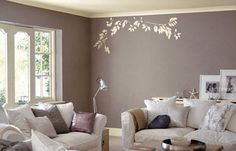 Love this color palette. tone on tone living room.