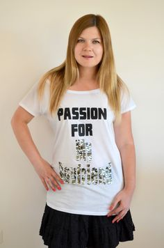 Boyfriend T Shirt, Passion, Shirts, Shopping, Etsy, Tops, Women, Dress Shirts, Shirt