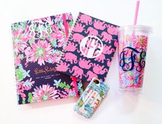 Lilly and monograms