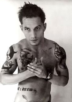 Tom Hardy @Ashley Walters Saunders he has his own bored BC of pics like this! He is one of my ultimate!