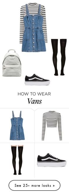 """Без названия #247"" by ayakayrzhan on Polyvore featuring Miss Selfridge, Vans and Marieyat"