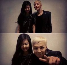 G-Dragon reveals pictures with Jennie Kim backstage of 'Inkigayo' | http://www.allkpop.com/article/2013/10/g-dragon-takes-a-picture-with-jennie-kim-backstage-of-inkigayo
