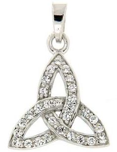 Trinity pendant from claddagh-ring.com
