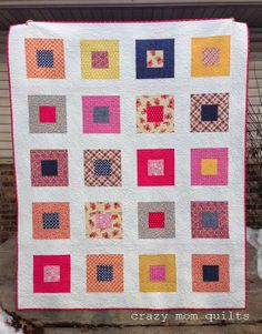 crazy mom quilts: Picadilly quilt