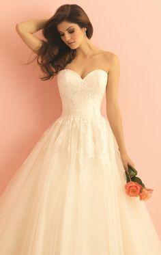 Allure 2867 by Allure Bridals Romance