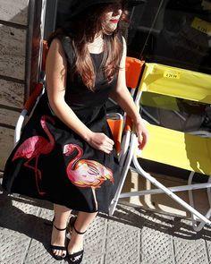 #fenicottero #isthenewblack  #spazioliberodresses  #spazioliberohats  #spazioliberoshoes  #spazioliberoarredadal1987  #model @elisabetta_caldelli
