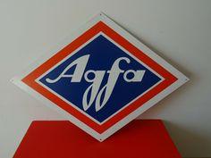 Vintage Werbung  Foto Geschäft Reklame XXL Blechtafel Agfa Film Mint Germany Agfa Film, Mint, Germany, Ebay, Movie, Pictures, Deutsch, Peppermint