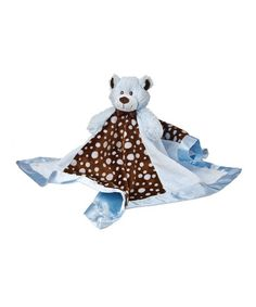 Take a look at this Blue Sweet Chocolate Plush Toy Blanket by Mary Meyer on #zulily today!