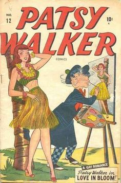 Patsy Walker Vol 1 12 Comic Book Covers, Comic Books Art, Comic Art, Book Art, Hulk Vs Superman, Defenders Marvel, Romance Comics, Artists And Models, Cool Cartoons