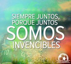 Hoy, hagamos posible lo imposible. #ContigoSiempre