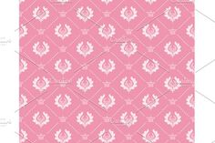 Seamless Wallpaper Damask  by kio on @creativemarket