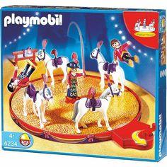 Voltigeurs avec chevaux et manège Playmobil 4236 prix promo La Redoute 32.17 € TTC