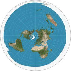 Gleason Flache Erde Karte.Die 8 Besten Bilder Von Different View To The World In 2016 Flache