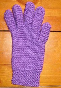 Free Loom Knit Glove Pattern