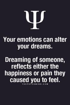 Imagini pentru psychological fact when you dream about someone